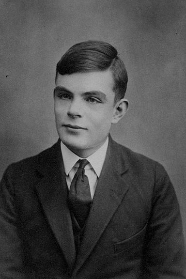 Alan_Turing_Aged_16 Portrait of young Alan Turing. (Used with permission.)