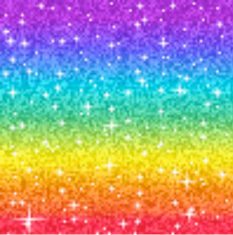 Rainbow Glitter. Net artist Olia Lialina advocates a web aesthetic of glitter and animated GIFFs.