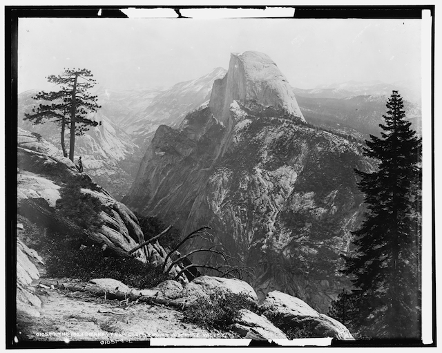 Fig. 7. High Sierras and Tenaya Canyon from Glacier Point, Yosemite Valley, California, circa 1901-1906, William Henry Jackson, glass negative approximately 8 x 10 in., Library of Congress, Washington, D.C.   Fig. 8.Pillars of Creation or Gaseous Pillars in the Eagle Nebula M16, April 1, 1995 with the Hubble Space Telescope Wide Field and Planetary Camera 2, Photo No. STScI-PRC2003-34, Credit: Jeff Hester and Paul Scowen (Arizona State University), and NASA.