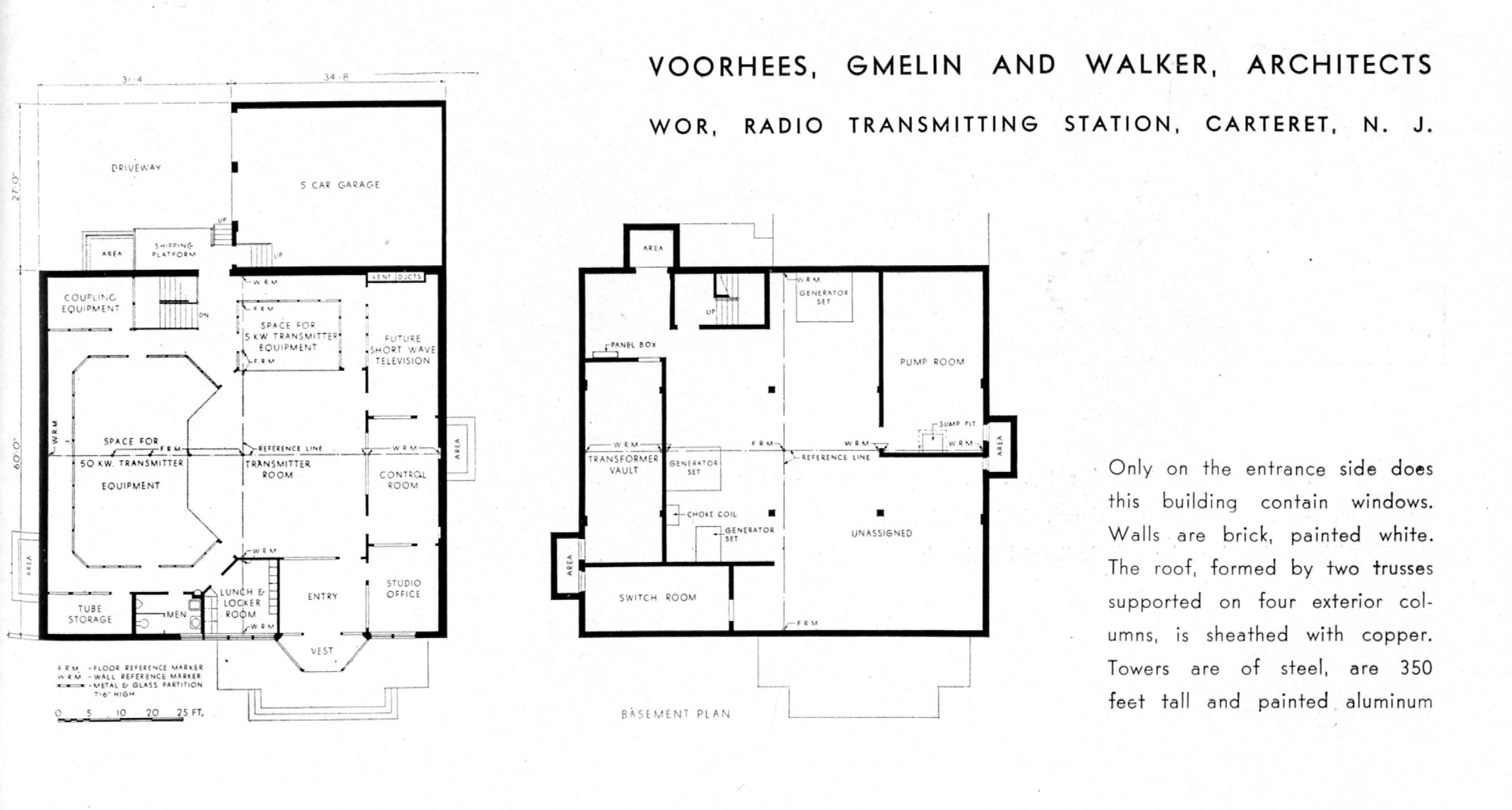 Wires Walls And Wireless Notes Toward An Investigation Of Radio Wiring In Basement Fig 6 Voorhees Gmelin Walker Wor Transmitting Station