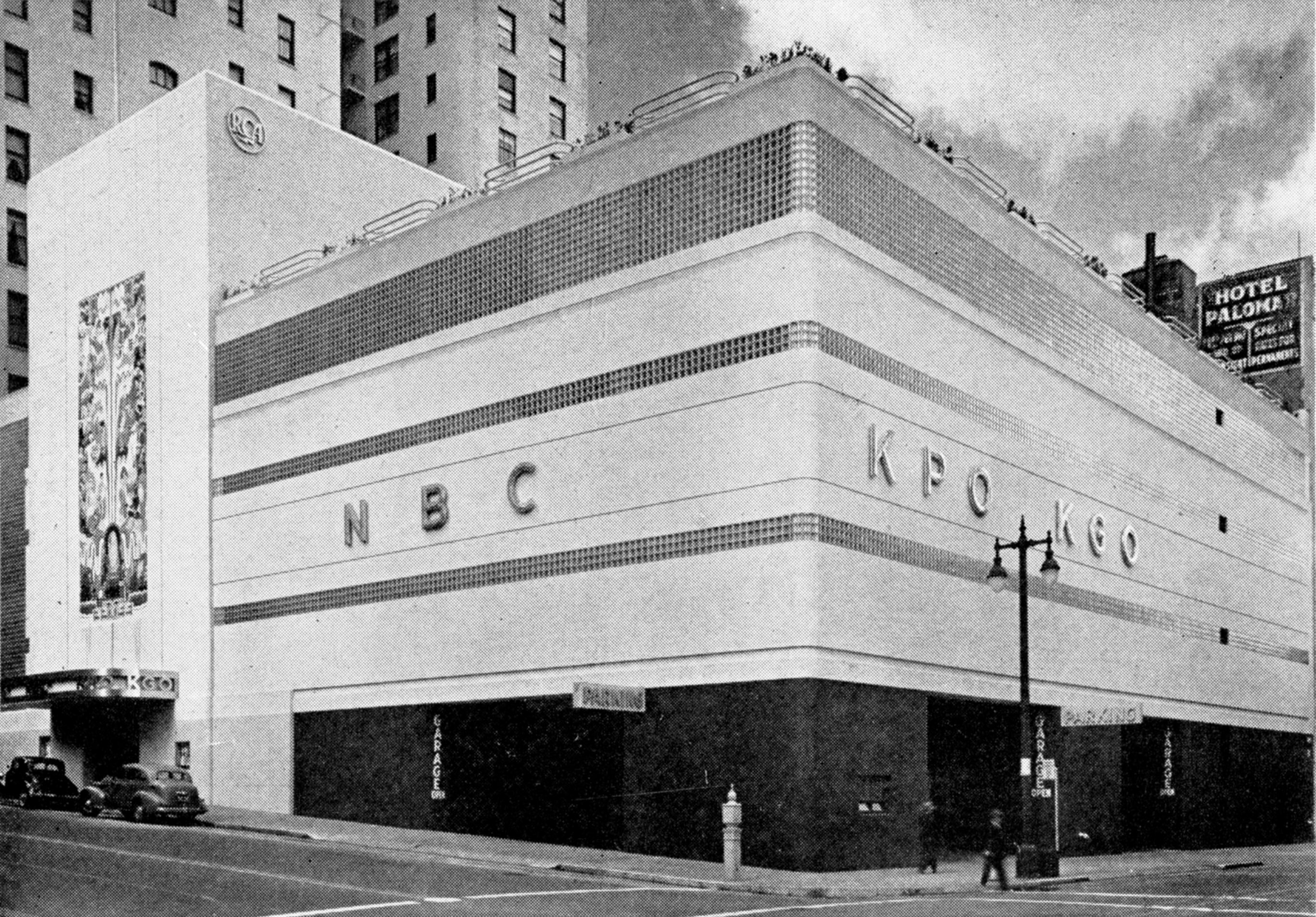 "Fig. 8. Albert F. Roller, NBC (KPO, KGO) Radio City building, San Francisco, CA, 1942. From ""San Francisco's 'Radio City': Albert F. Roller, architect,"" Architectural Record 92 (November 1942): 37-40, p. 37."