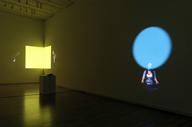 Last Light, Circle of Light, 2012, Joyce Yu-Jean Lee, projected video installation still, ©Joyce Yu-Jean Lee.