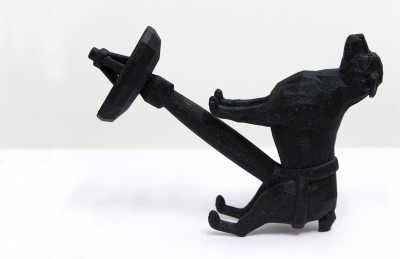 #dog #dildo #satellite Dish, 2014, Morehshin Allahyari, 3D Print