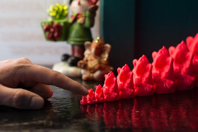 Ganesh Bomb, 2014, Jason J. Ferguson, 3D printed graffiti, ©Jason J. Ferguson, Photo ©Alex Mandrila.