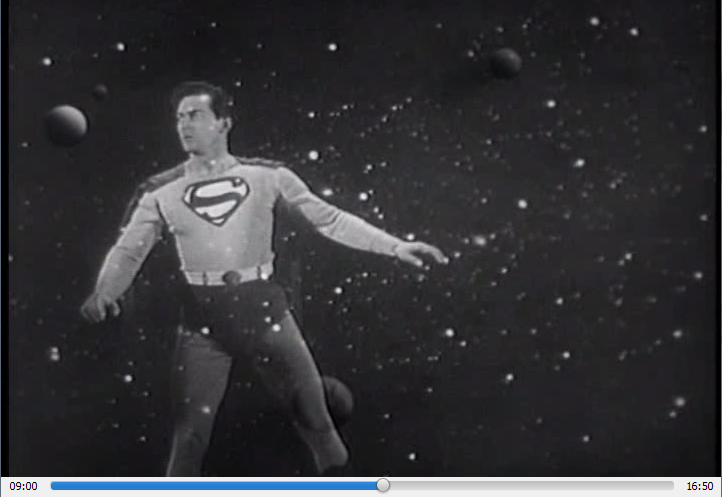 Atom Man vs. Superman, 1950, Dir. Spencer Gordon Bennet, DVD screen capture.
