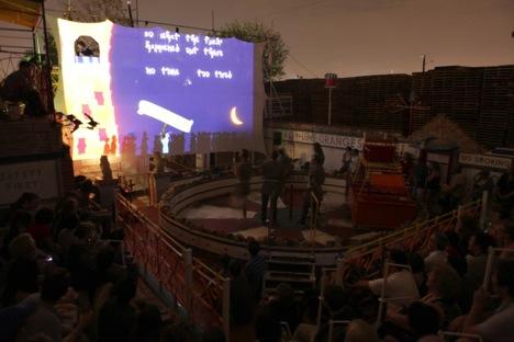 Wizard Takes All, 2011 Eddo Stern, interactive performance, © Eddo Stern.