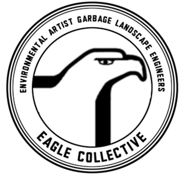 Logo of the E.A.G.L.E. Collective, courtesy of Shiloh Krupar.