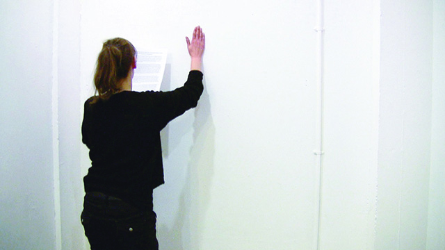 Data Management Part III, 2012, Susanne Palzer, Photo ©Susanne Palzer.
