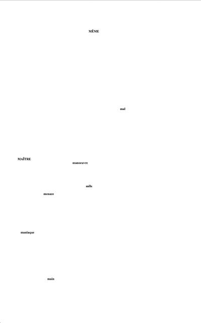 Insert Fig 5. – From A.S. Kline, Mallarmé: Un coup de dés jamais n'abolira le hazard.