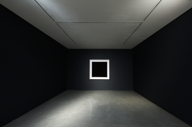 NANOblck-Sqr#1, 2014, Frederik de Wilde, CF installation view, photo by Carroll/Fletcher Gallery. (Used with permission.)