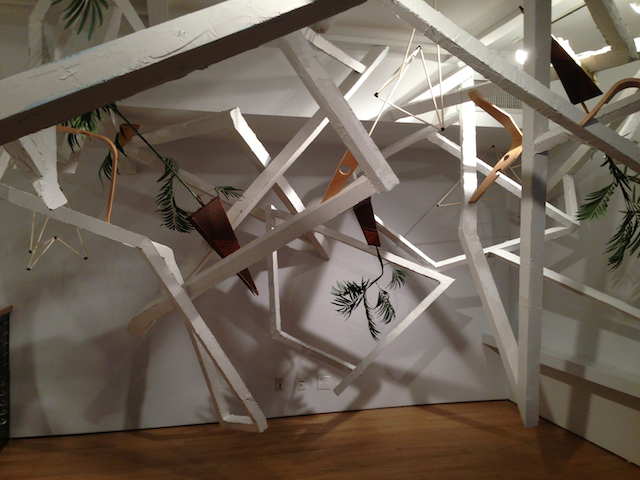 Infinity Structure,  2013, Robert Gero, multimedia installation, © Robert Gero. (Used with permission.)
