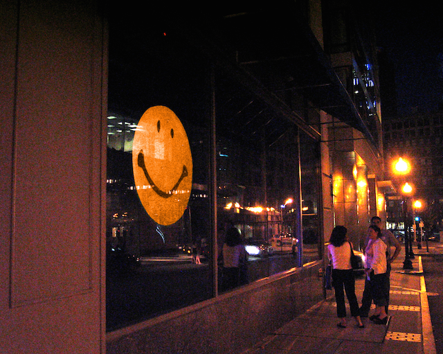 Big Smile, 2003, Brian Knep, installation. Image courtesy of the artist. (Used with permission.)