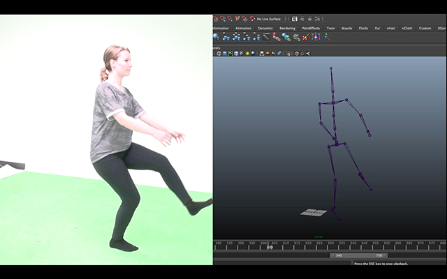 UW Whitewater Motion Capture Studio, 2014, © A. Bill Miller. (Used with permission.)