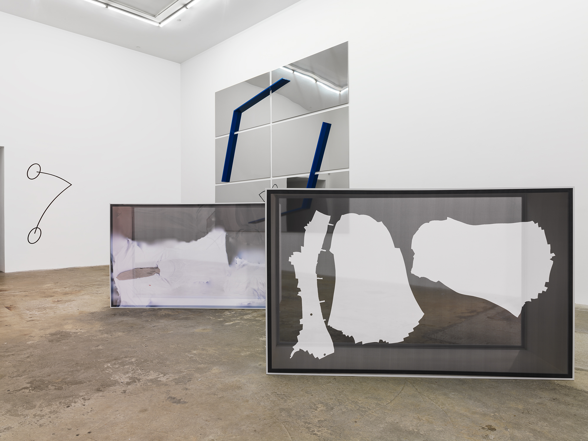 Untitled, 2014, Artie Vierkant, installation view, Model Release gallery, New York. Used with permission.