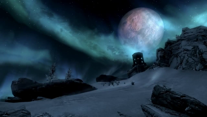 Other Places: Skyrim (The Elder Scrolls V), 2013, Andy Kelly, HD video, © Andy Kelly. (Used with Permission.)