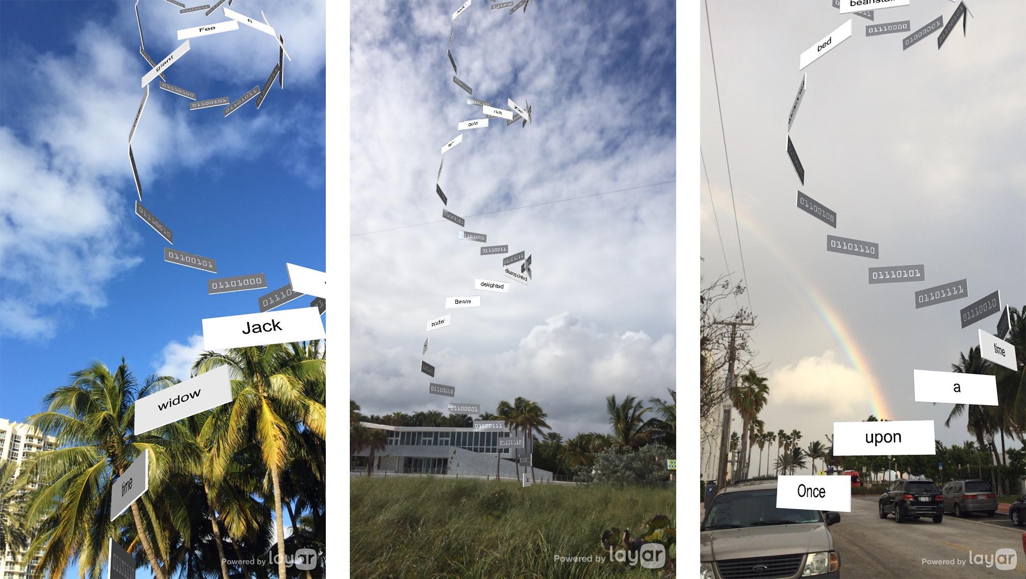 Installation views, Harp of the Giant (partial), 2015, Richard Humann, AR ©Spark Art Management/SPARK+